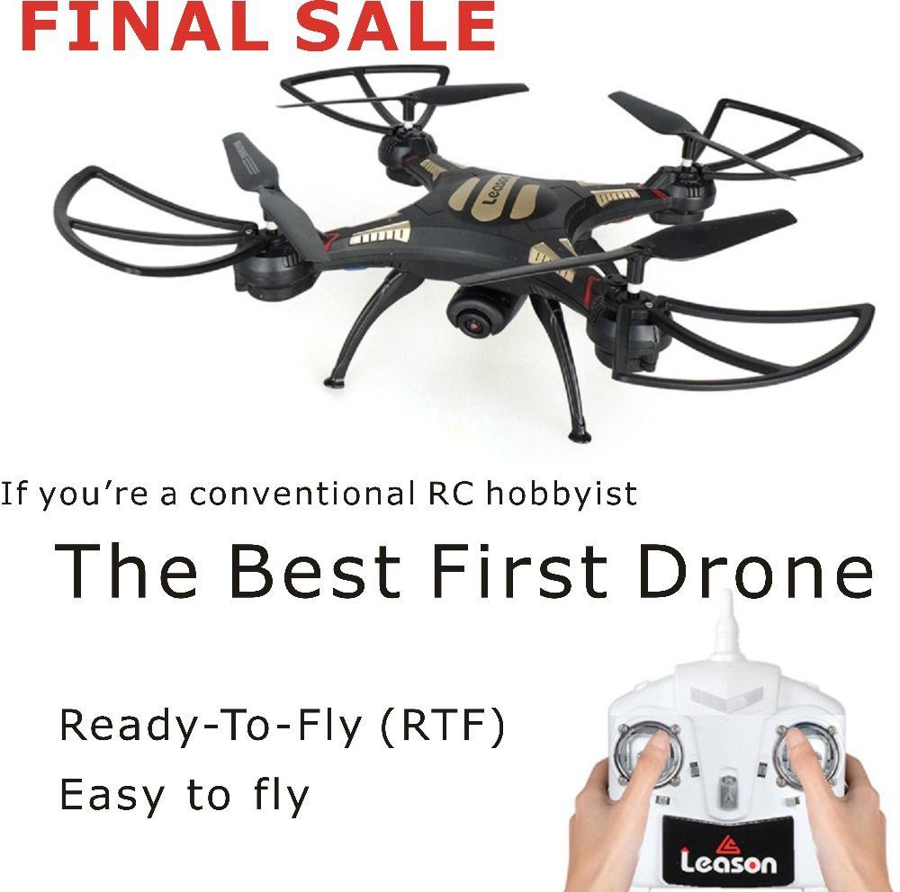 Professionnel RC À Distance Drone Quadcopter Avec Caméra HD 720 P Quad Copter Drone 4 CH 6 GYRO Sans Tête 2.4G RC Hélicoptère d'origine