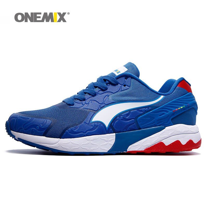 onemix men's running shoes women sneakers for training sports shoes gym sneakers elastic outdoor shoes for jogging walking