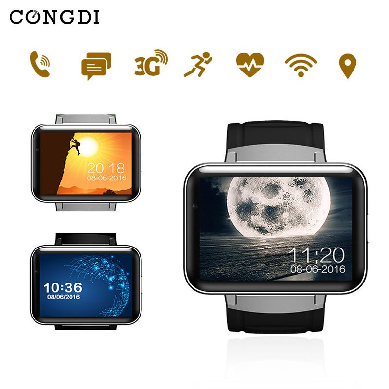 DM98 Smart Watch Video Call Push Message Music player WiFi GPS positioning Navigation Global communications support for Whatsapp