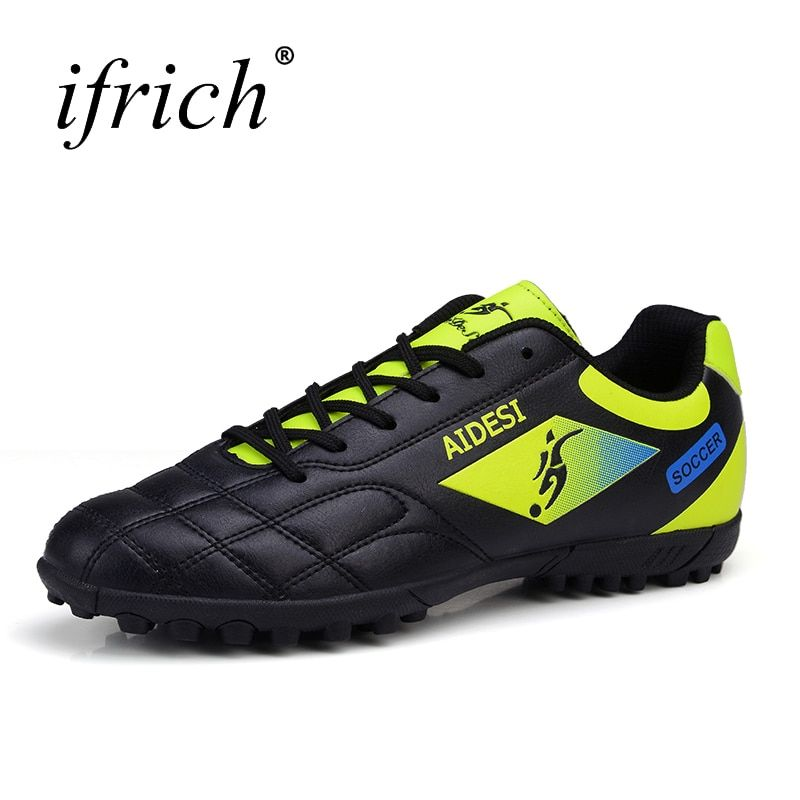 2016 Football Shoes Soccer Boots For Men Children Soccer Cleats Turf Shoes Leather Soccer Trainer Boys Soccer Sneaker Turf Boot