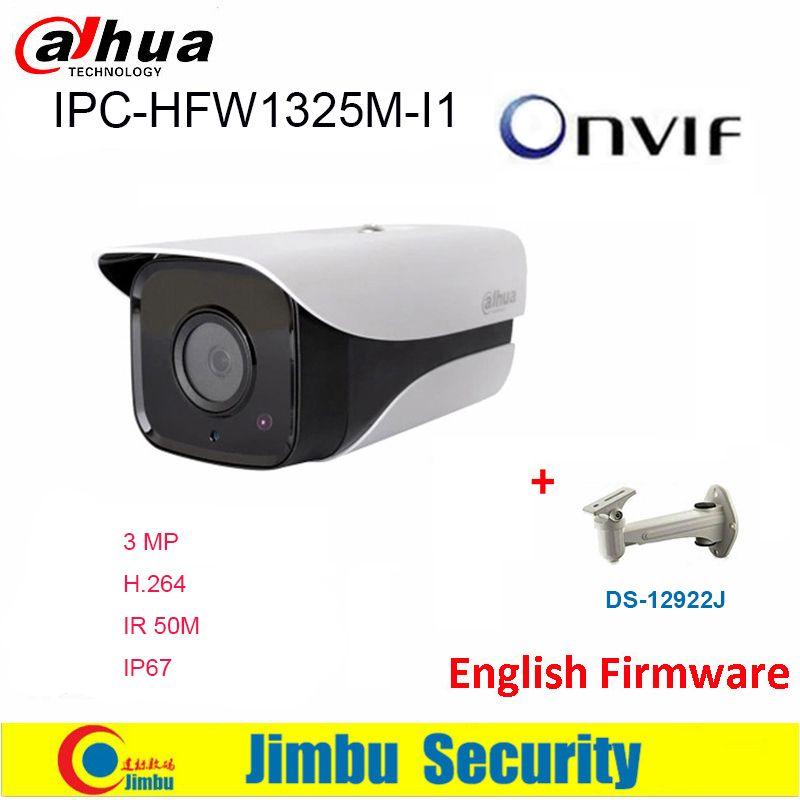 Caméra IP Dahua 3MP IPC-HFW1325M-I1 H.264 IP67 ONVIF IR30M caméra réseau de Surveillance 3DNR jour/nuit