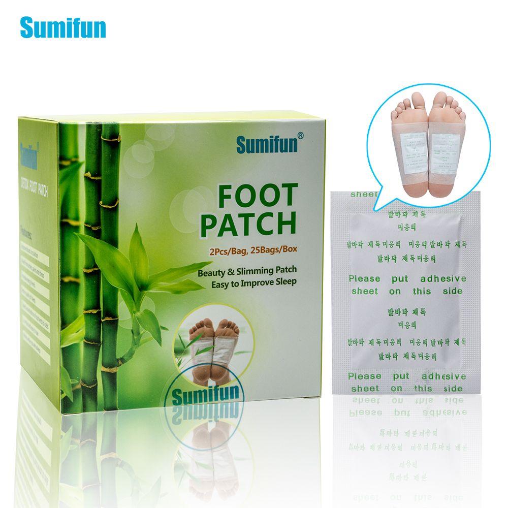 50pcs Patches+50pcs Adhesives Kinoki Detox Foot Patches Toxins Feet Cleansing Herbal Adhesive Massage Organic Herbal Pads K02401