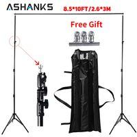 Ashanks фоны для фотосъемки в студии Frame система держателей фотофона 2,6 м X 3 м стоит камера и аксессуары для фотосъемки + сумка