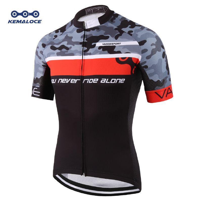 KEMALOCE Team 2019 Pro Tour grue course cyclisme Jersey chine Original cyclisme chemises porter hommes équipement professionnel vélo maillot