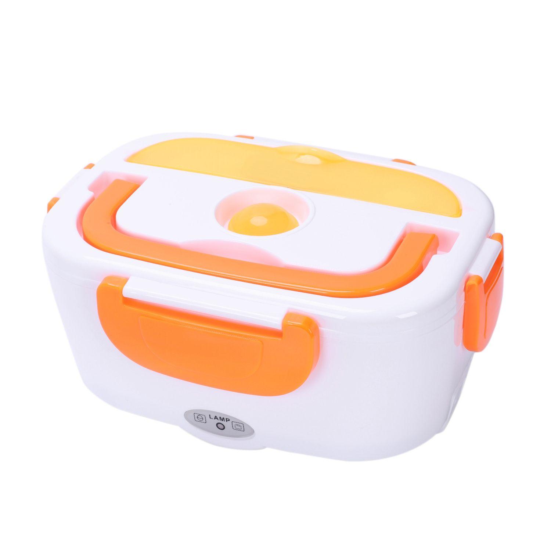 La boîte à Lunch électrique portative a chauffé des ensembles de vaisselle de réchauffeur de nourriture de riz de préparation de repas pour le voyage/bureau de boîte de Bento d'enfant