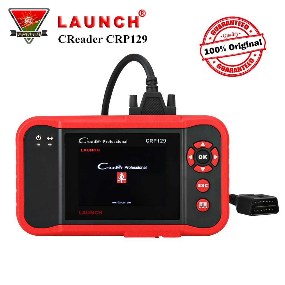 Launch X431 Creader CRP129 OBD2 Car Scanner Auto OBD Diagnostic Tool for ENG/AT/ABS/SRS+Brake/Oil/SAS Reset Code Reader pk VIII