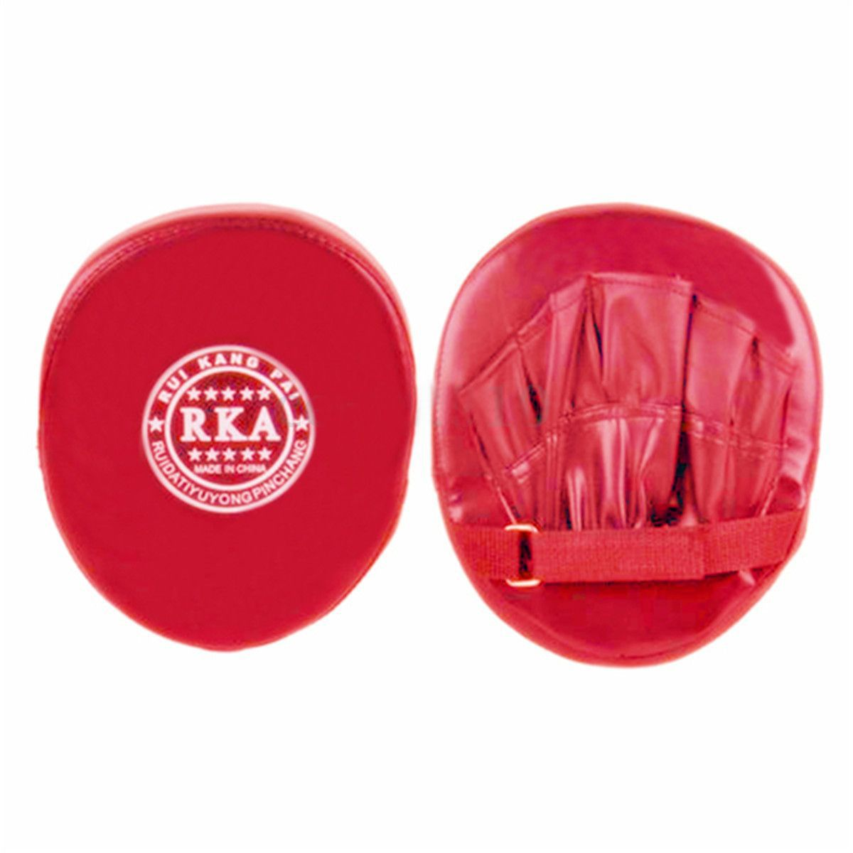 Neue Verkauf Boxen Trainings Mitt Zielfokus Stanzen Pad Karate Muay Thai Kick Rot