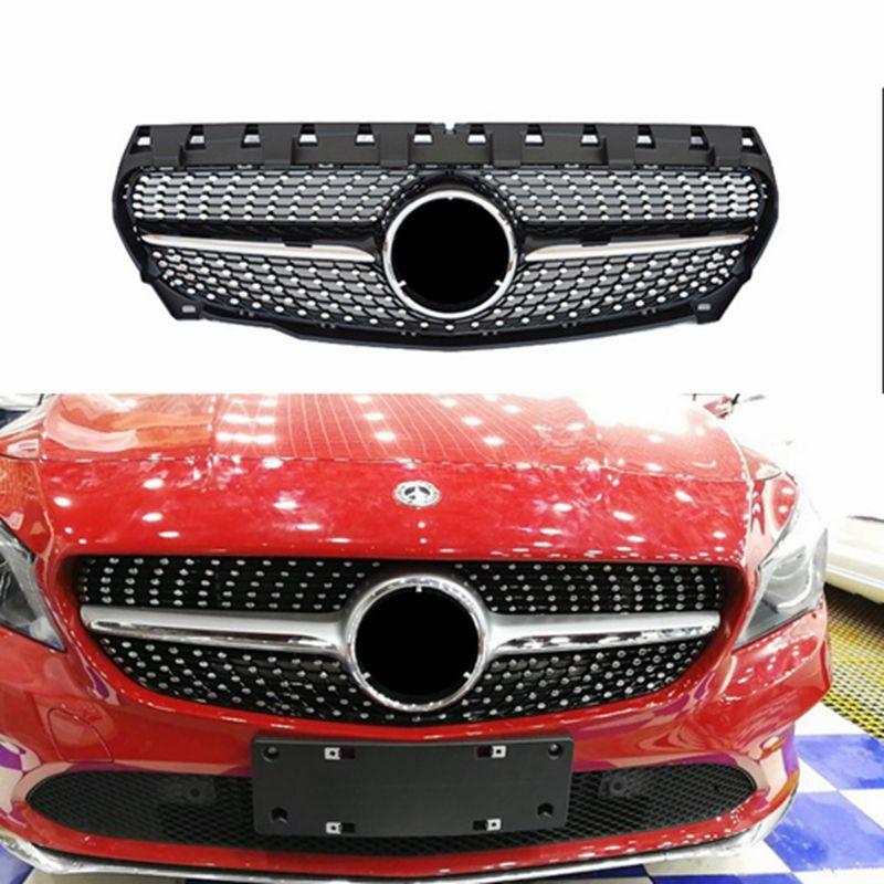 Diamant Gitter Für CLA Klasse Mercedes Benz W117 C117 CLA180 CLA 200 CLA260 CLA300 2013 2014 2015 2016 ABS Material