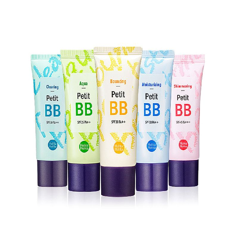 HOLIKA HOLIKA Petit BB Crème 30 ml 8 Type Pop BB CC Crème Blanchiment Maquillage Correcteur Fondation Hydratant Corée Cosmétiques