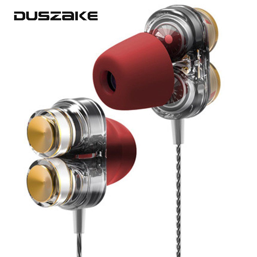 Stereo Bass Earpieces 3.5mm In-Ear Earphone for Phone HiFi Earbuds With Mic for Samsung Xiaomi Huawei cellphone fone de ouvido