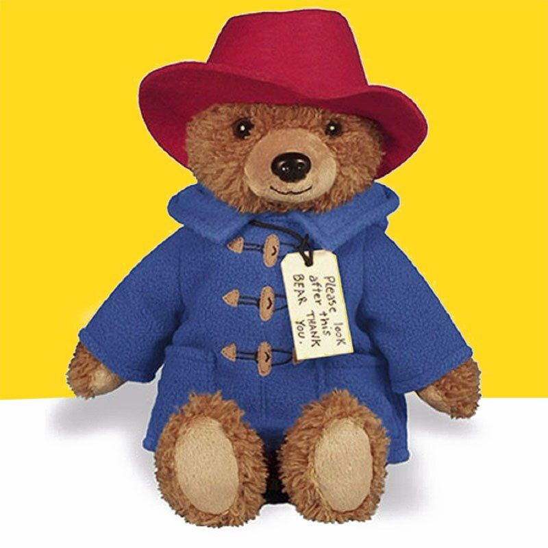 Peluche Paddington Bear Cotton Stuffed Gift Newest Movie 37/30cm Soft Plush Big Screen Paddington Bears Toy
