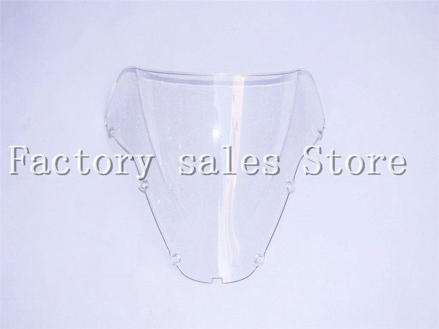 For Honda CBR 900 RR 929 2000 2001 White Windshield WindScreen Double Bubble CBR929 CBR900RR 900RR CBR900 00 01
