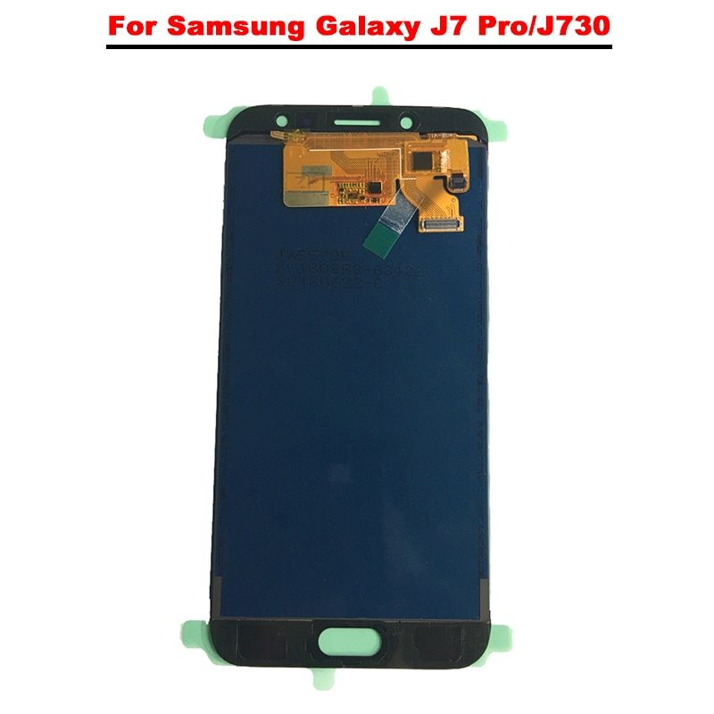 For Samsung Galaxy J7 Pro 2017 LCD J730 J730F LCD Display + Touch Screen Digitizer Assembly Replacement Can Adjust Brightness