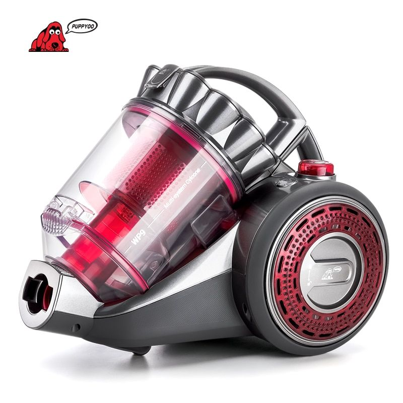 PUPPYOO Home Canister Vacuum <font><b>Cleaner</b></font> Large Suction Capacity Powerful Aspirator Pet Brush Multifunctional Cleaning Appliances WP9