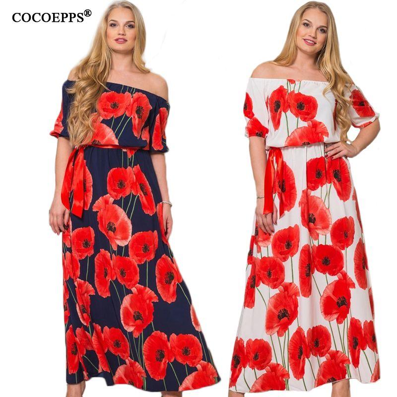 2019 5XL 6XL femmes dentelle Maxi robes Plus grande grande taille o-cou lâche Sexy robe de soirée élégante longue robe d'été Style vêtements