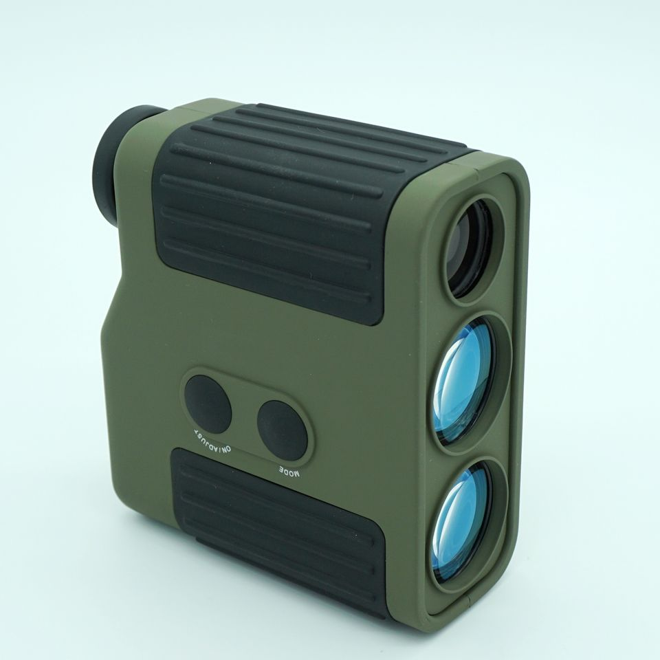 High precision Professional golf Laser Range Finder For Hunting WIith Range Measurement 1500M Rangefinder Green and Black