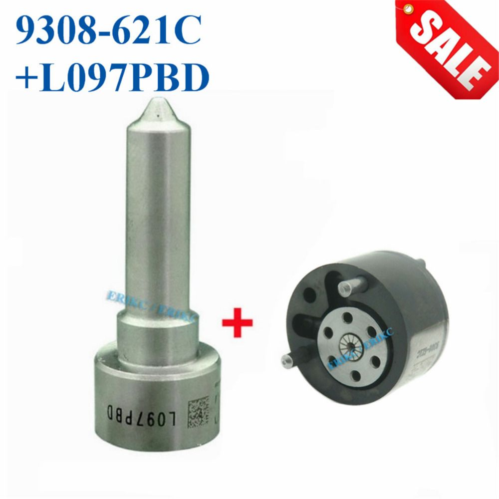 ERIKC Valve 9308-621C Injector Nozzle L097PBD Overhaul Repair Kit 7135-659 Inyector CR Spare Parts 28239294 for EJBR02801D 3601D