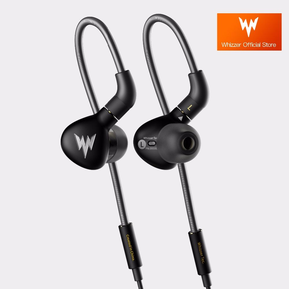 Whizzer A15Pro A15 Pro Dynamic HiFi Hi-Res Pure Clear Balanced Sound Metal In Ear Earphones with MMCX Cable Official Store