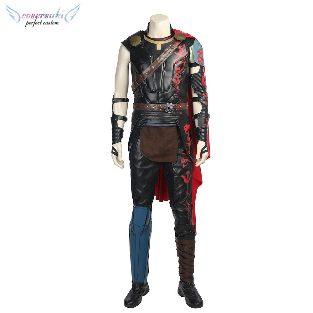 Thor: Ragnarok Thor Odinson Chris Hemsworth Cosplay Costumes Stage Performence Clothes ,Perfect Custom for You !