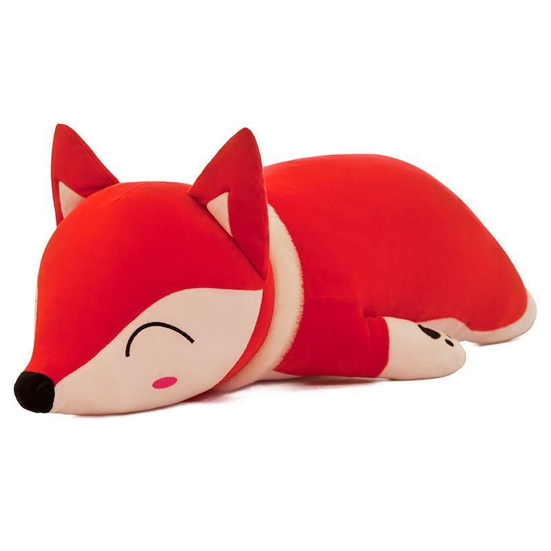 35/50 cm Kawaii poupées peluches et jouets en peluche pour filles enfants garçons jouets en peluche oreiller renard peluches poupée