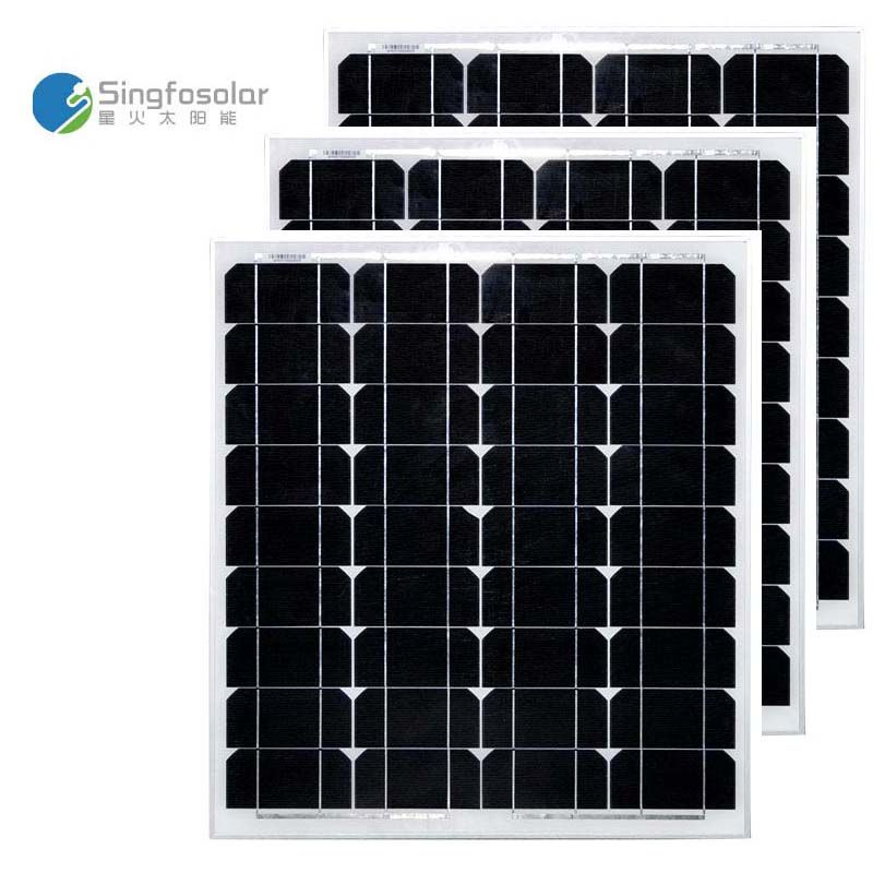 Panneaux Solaire 12V 50W 3Pcs/Lot Panels Solar 150W 36v Solar Battery Waterproof Solar Power System Car Camp Caravan Motorhome