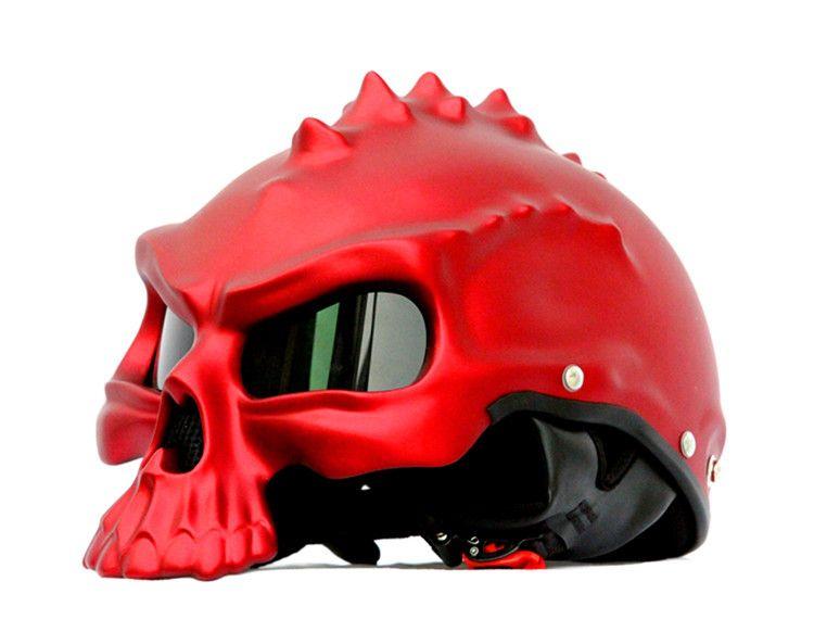 Masei 489 Harley Motorcycle Helmet Motor biker Skull Capacetes Casco Retro Style Casque