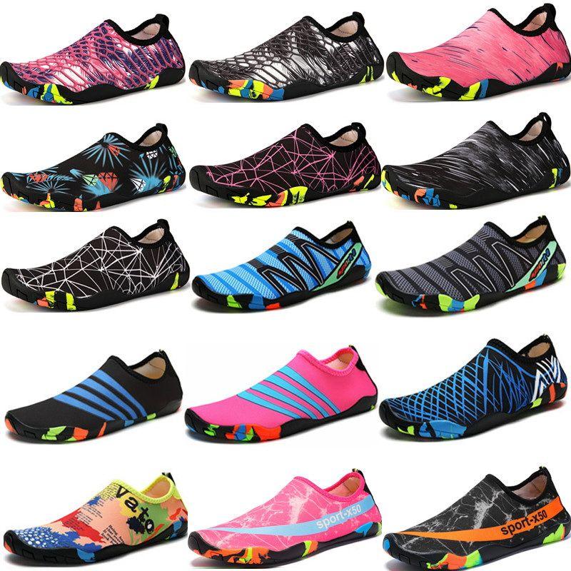 Swimming Water Aqua Shoes Men Women Beach Camping Shoes Adult Unisex Aqua Flat Soft Walking Lover yoga Shoes Non-slip sneakers