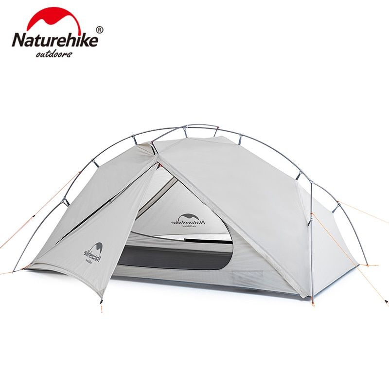 Naturehike VIK Series 970g Ultralight Single Tent 15D Nylon Waterproof Camping Tent Single-layer Outdoor Hiking Tent NH18W001-K