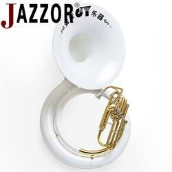 JAZZOR JYSP-E170 sousaphone B plat En Laiton corps Cupronickel vannes instrument à vent