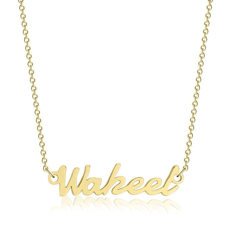 3 UMeter collier personnalisé personnaliser collier ras du cou femmes cuivre pendentif fascinant nom collier collier ras du cou pour Etsy