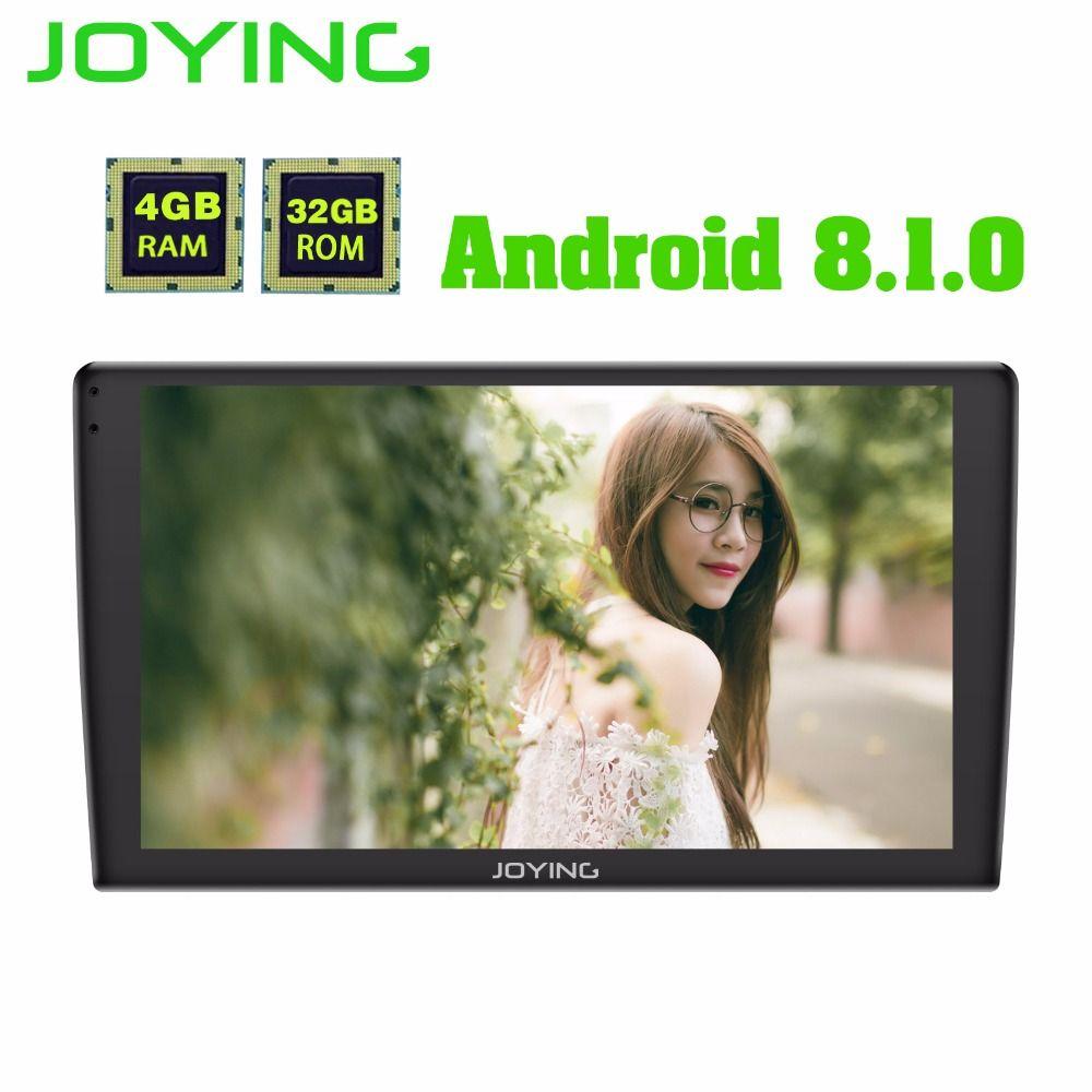 Neueste Android 8.1 one din 4 GB Ram 32 GB Rom 9 zoll Auto-Radio-Player GPS HD touchscreen universal kopf einheit schnelle boot mit DSP