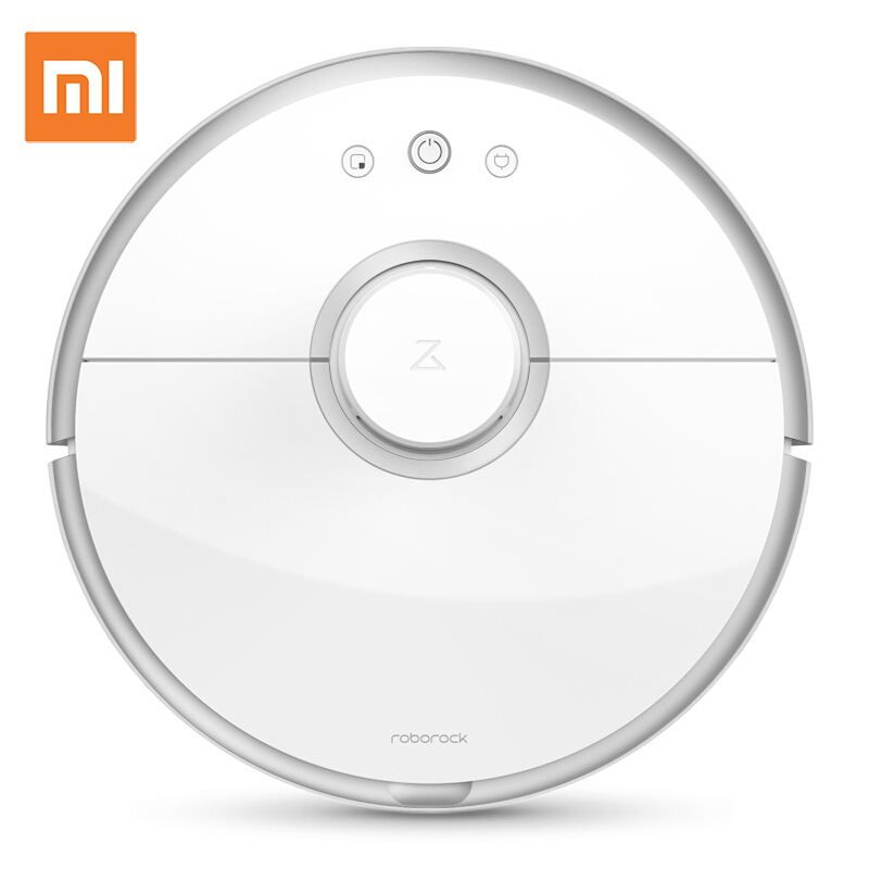 New Original XIAOMI Roborock s50 Robot Vacuum Cleaner 2 Smart Cleaning for Home Office Automatic Sweep Wet Mopping App Control