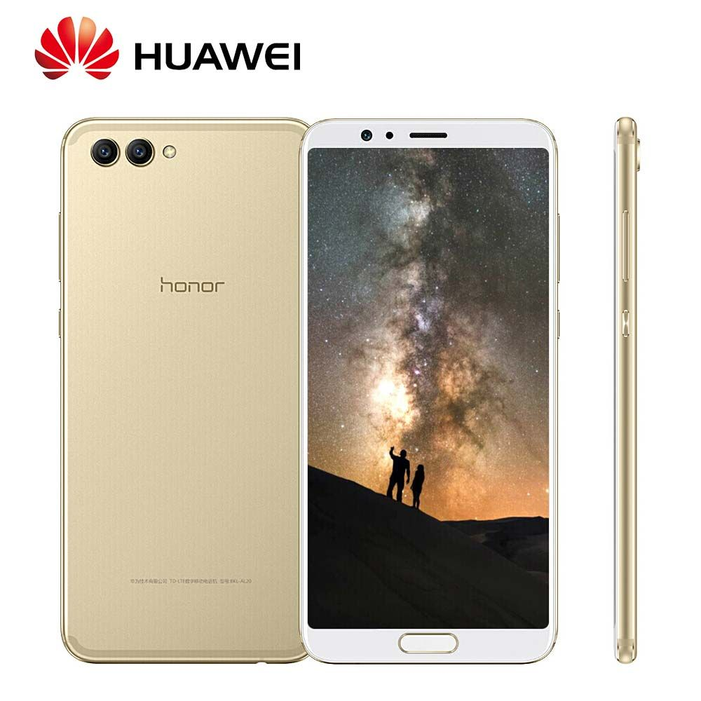 Global Rom Huawei Honor V10 20MP+16MP Dual Rear cameras 3750mAh 5.99