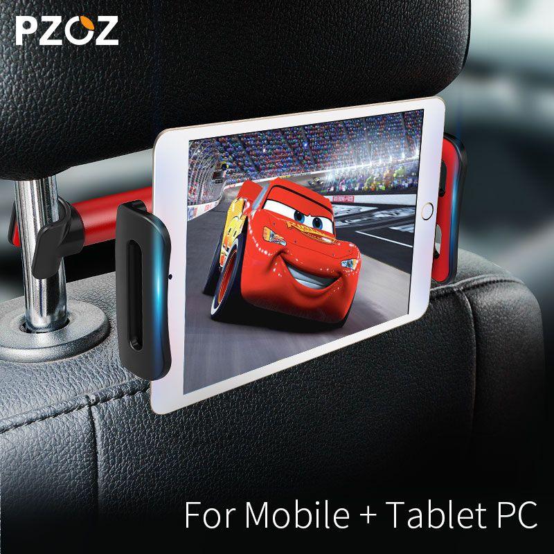 PZOZ rücksitz tablet PC ständer kopfstütze halter unterstützung für ipad auto rücksitz handy halter ständer Universal 360 Rotierenden