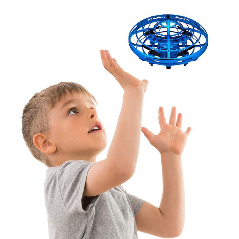 UFO Ball Flying Aircraft Anti-collision Hand UFO Helicopter mini drone small intelligent induction quadcopter Drones For boys