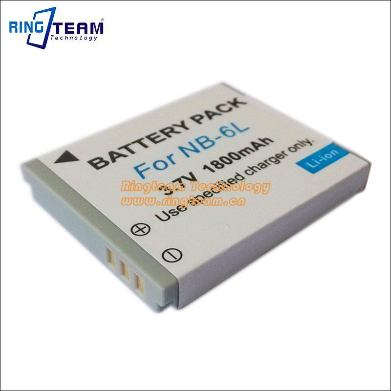 NB-6LH NB6L NB-6L Digital Battery for Canon Power-shot Cameras SX520 HS SX530 SX600 SX610 SX700 SX710 IXUS 85 95 200 210 105