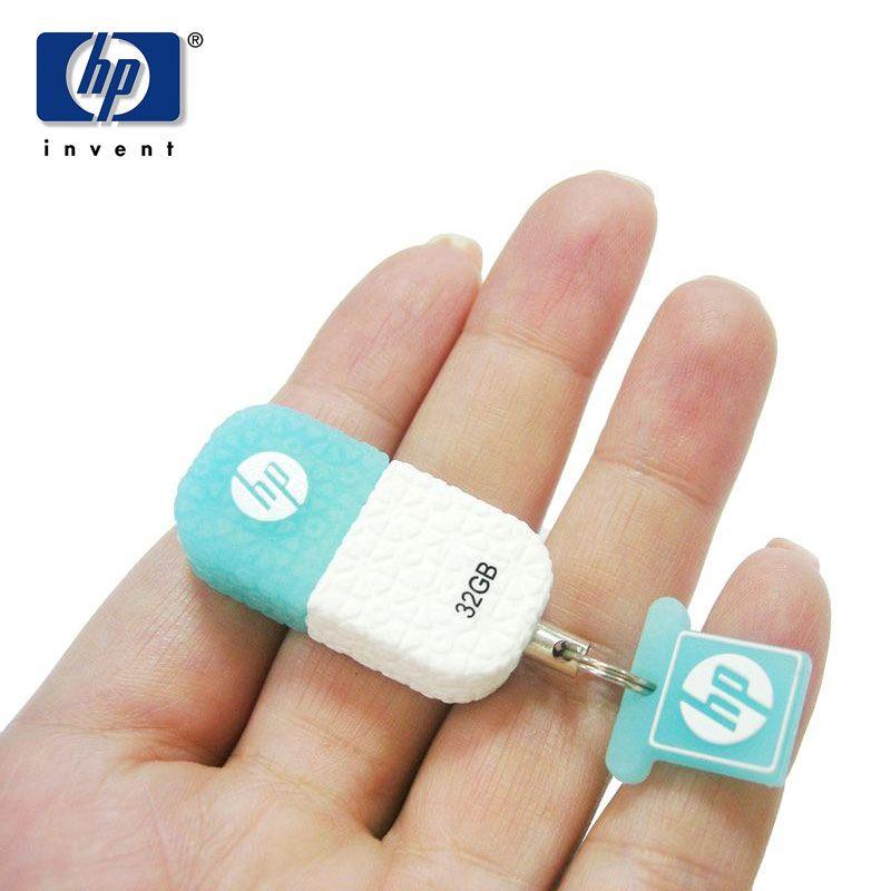 HP USB Flash 64 gb pendrive 32 gb Mini Stylo Lecteur v175w Silicone DJ Musique Bâton de Mémoire 16 gb Cle USB 8 gb flash disque sur clé Memoria
