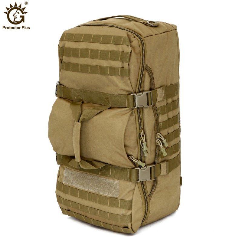 Militärische Taktische Rucksack 60L Outdoor Camping Große Kapazität Sport Rucksäcke männer Wandern Schulter Tasche Rucksack Reise Rucksack