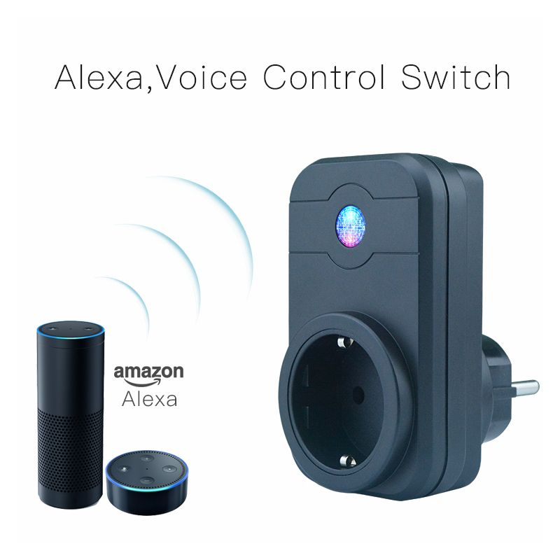 Home Automation Phone Remote Control Timer Control <font><b>Voice</b></font> Control Wifi Smart Plug socket Working with Google home Amazon Alexa