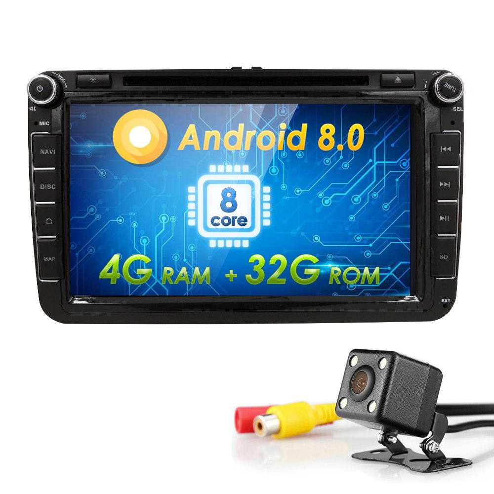 Wifi Android 8.0 GPS Stereo 8