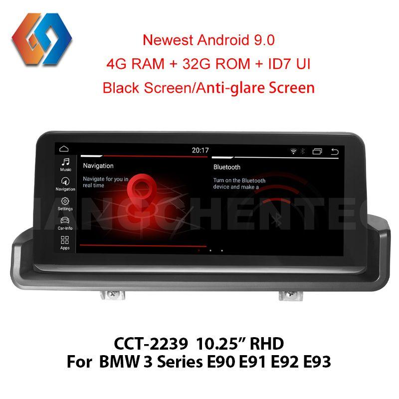 RHD E90 Android 9.0 Px6 für Rechtslenker E90 E91 E92 E93 Auto Multimedia GPS Navigation BT WiFi Touchscreen freies iDrive39