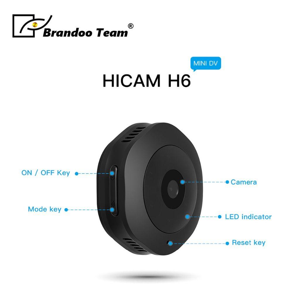 Portable H6 HD 1080P Car Home Night Vision Camcorder Mini Camera 2mp nanny camera DV Motion Recorder Camcorder,free shipping
