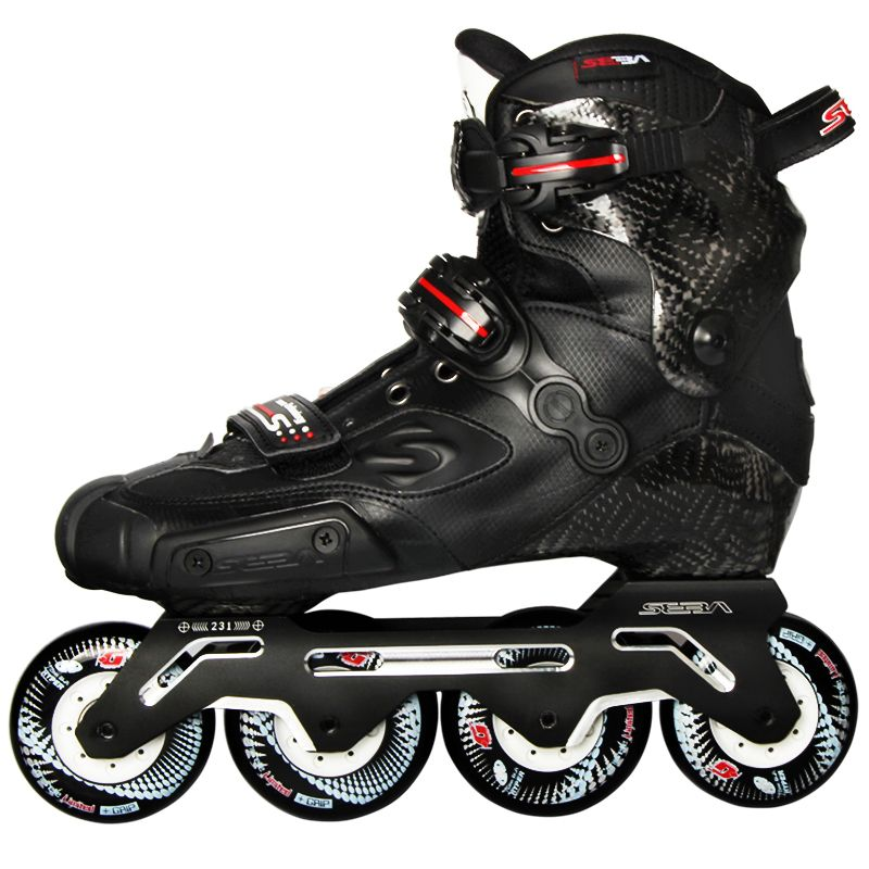 100% Original 2019 Newest SEBA S Slide Professional Adult Inline Skates Carbon Fiber Shoes Slalom Sliding Free Skating Patines