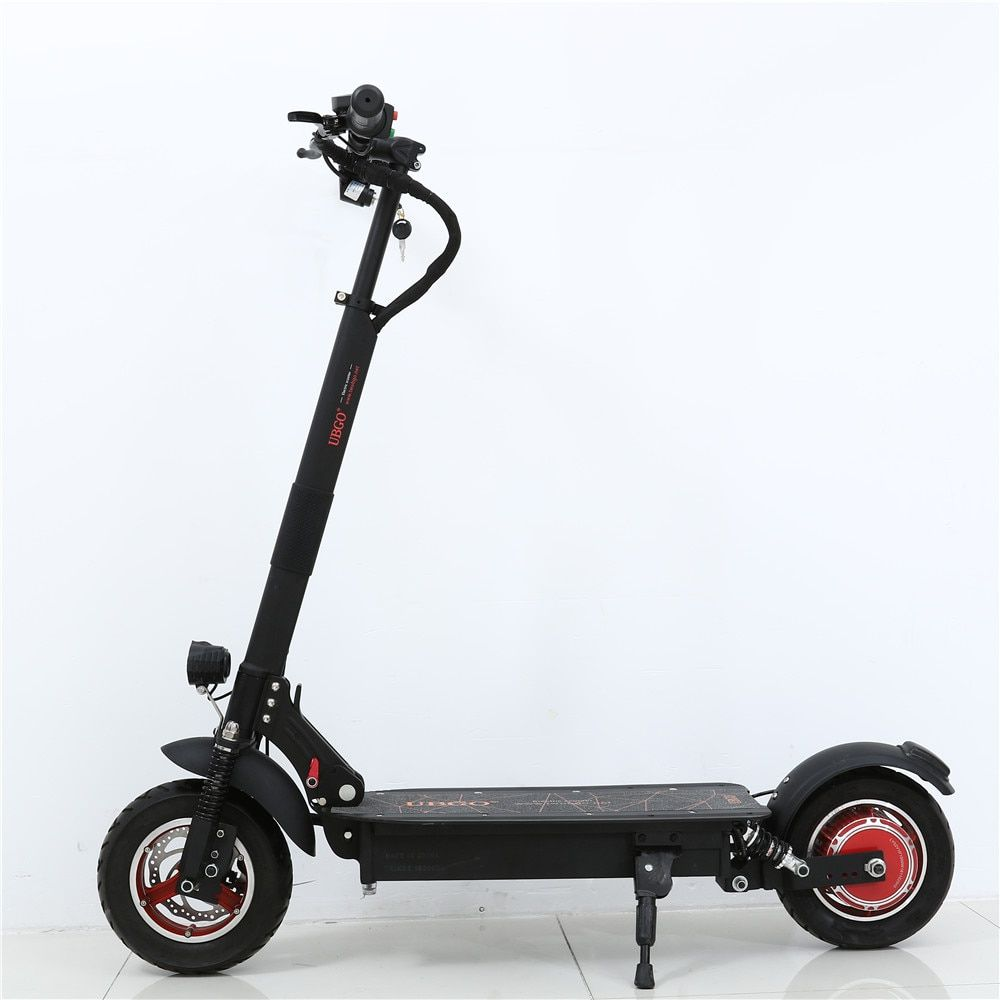 2018 NEW UBGO 1003 Single Driver 10 INCH Foldable Electric Scootor with 1000W Turbine Motor