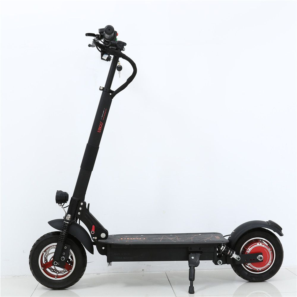 NEW UBGO 1003 Single Driver 10 INCH Foldable  Electric Scootor with 1000W Turbine Motor