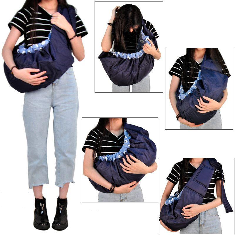 3 couleurs bébé fronde ergonomique nouveau-né Wrap bébé transporteur sac à dos fronde avant face nouveau-né bébé sangle mère allaitement