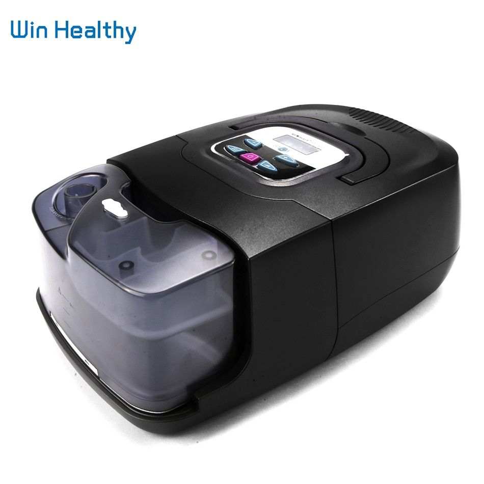 BMC Auto CPAP Machine Hot Sale Mini Black Shell Resmart Respirator For OSAS Anti Snoring Sleep Apnea With Mask Humidifier