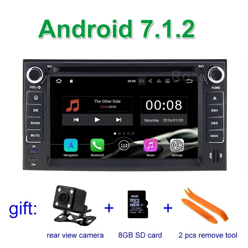 Android 7.1.2 Car DVD Player Radio for KIA SORENTO SPORTAGE SPECTRA SEDONA STAR CARNIVAL CERATO CARENS with BT WiFi GPS