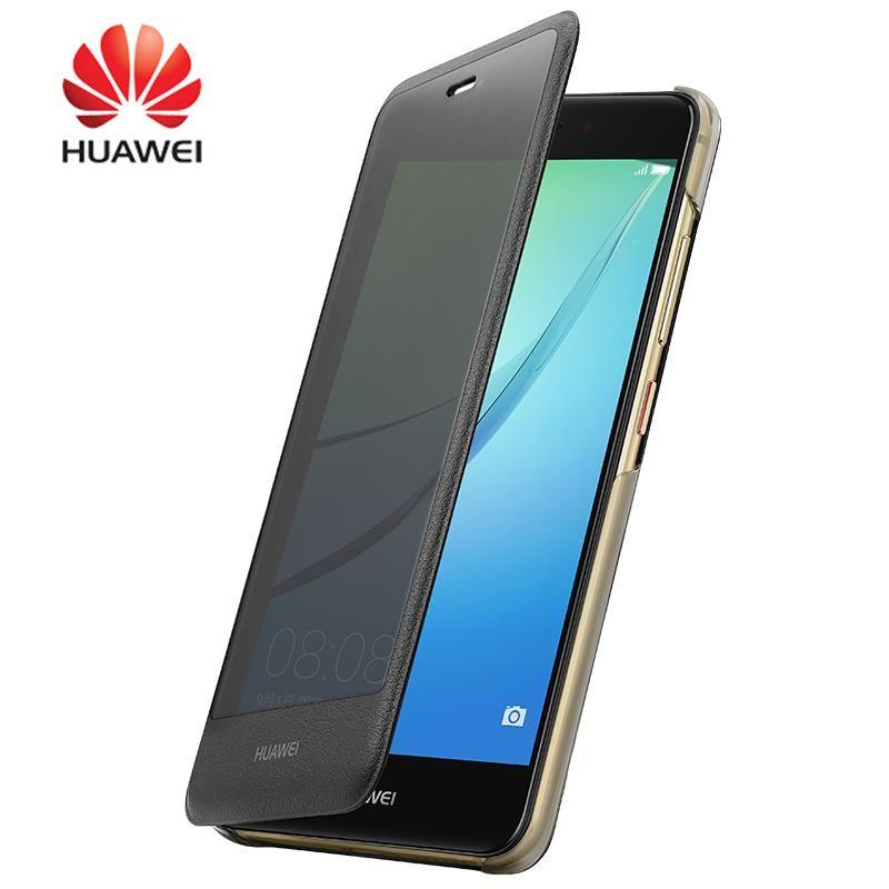 100% D'origine Smart View Couverture pour Huawei nova cas Givré PC En Plastique Dur Protecteur Couverture pour huawei nova 5.0 ''Téléphone shell