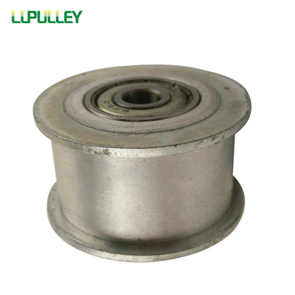 LUPULLEY Idler Pulley 5M Type 20T Bore 5/6/7/8/10/12/15mm  Width 16/21/27mm HTD5M Tension Belt Idler  Width Bearing 1PC